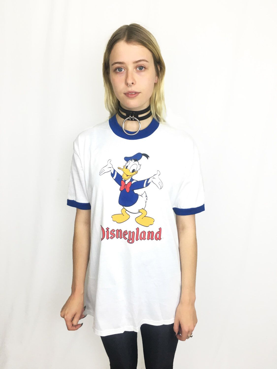Vintage Disneyland Ringer Tee Size Large by SurvivalResearchLabs on Etsy https://www.etsy.com/listing/481482425/vintage-disneyland-ringer-tee-size-large