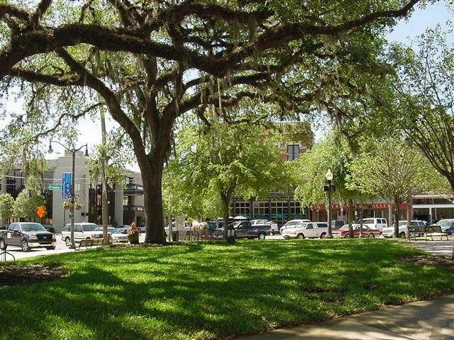 Downtown Ocala Square. Beautiful and Peaceful.