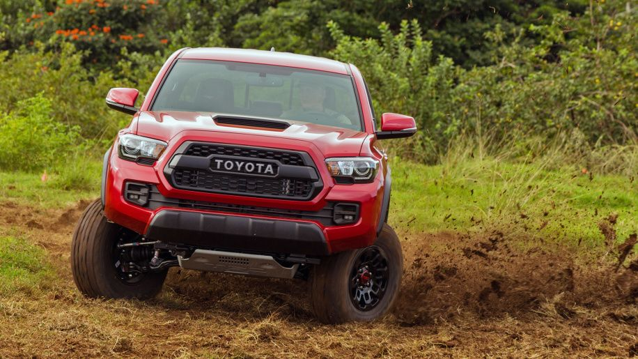2017 Toyota TRD Pro First Drive Photo Gallery