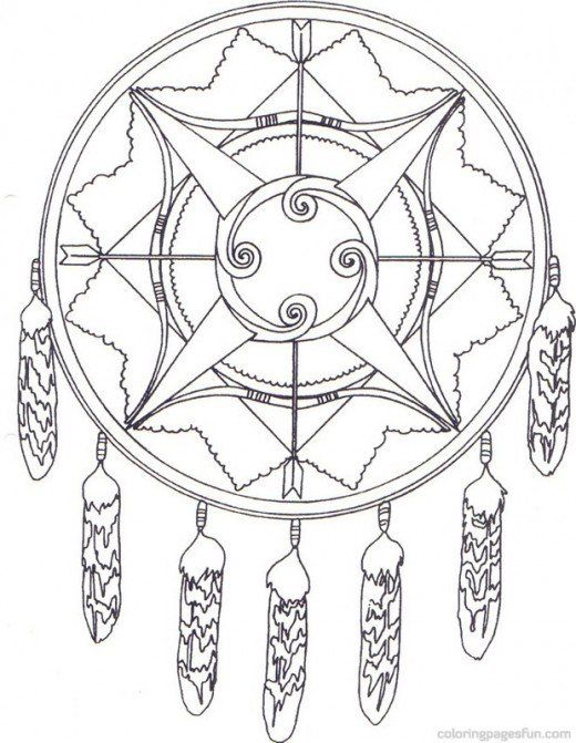 Native American Indian Coloring Books and Free Coloring Pages ...