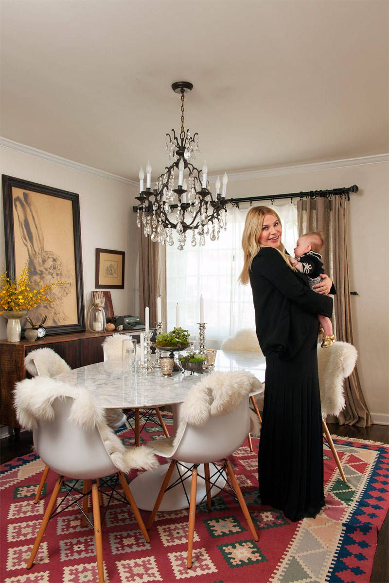 Emily Current and Meritt Elliott West Hollywood Homes - Fashion Designers Current Elliott Interior Design - ELLE