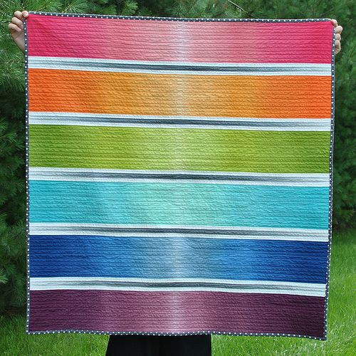 Ombre Rainbow | Rainbow colors. | Pinterest | Quilt, Ombre and ... : ombre quilting fabric - Adamdwight.com