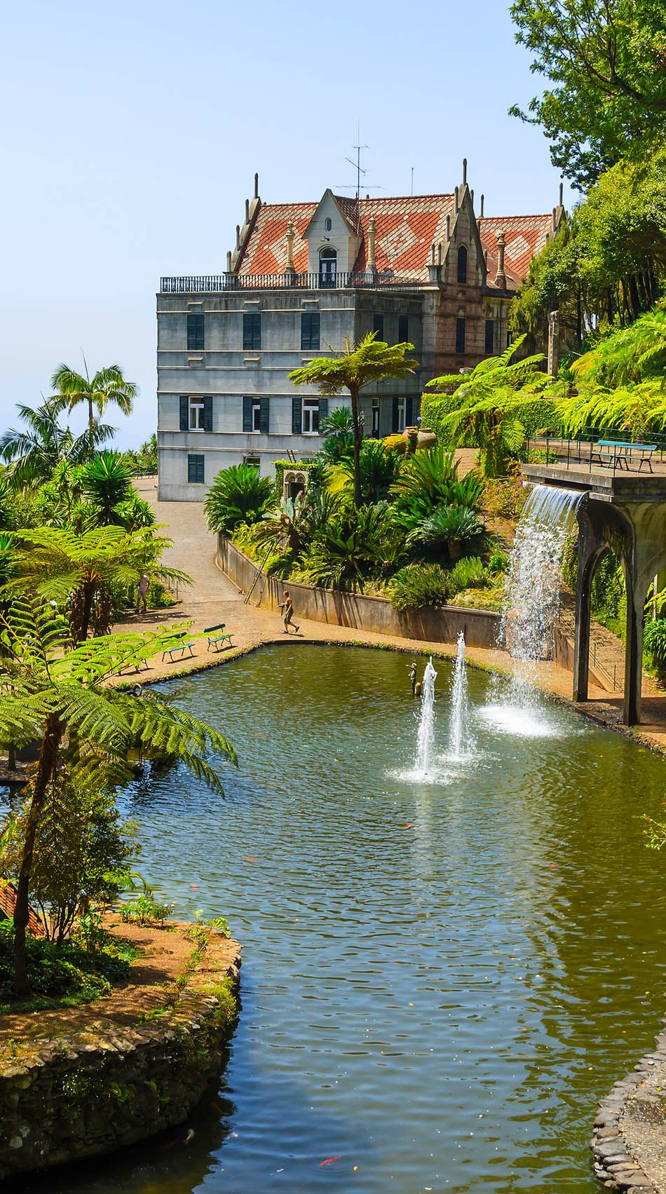 Monte Tropical Gardens, Funchal, Madeira, Portugal   |   32 Stupendous Places in Portugal every Travel Lover should Visit