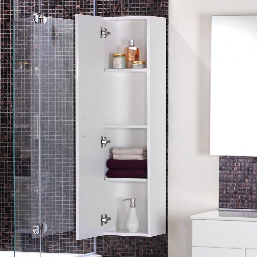 35+ Small white bathroom cabinets inspiration