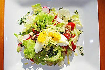 Bunter sommersalat vegetarisch
