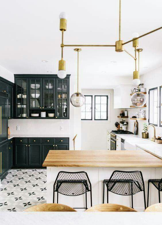 Love kitchen flooring with bold patterns wit and delight home tour also best house decor new images future bedroom ideas rh pinterest