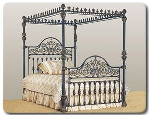Queen Victoria Canopy Bed - King Size Complete Retail $3656.99 - Home Garden and Patio  sc 1 st  Pinterest & Queen Victoria Canopy Bed - King Size Complete Retail: $3656.99 ...