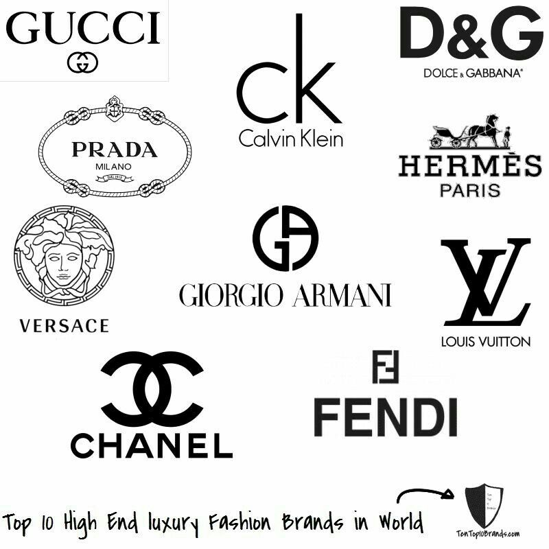 Pin By Kim Parker On Imprimibles Fashion Logo Branding Clothing Brand Logos Luxury Brand Logo