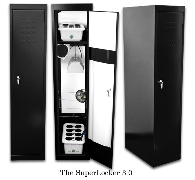 150watt Hydrponic Grow Box Closet System. Micro