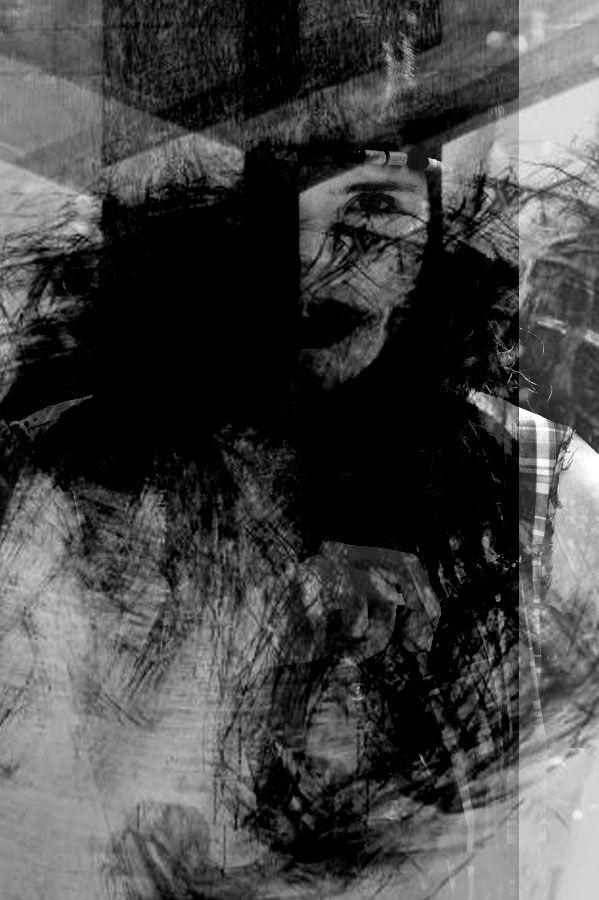 Autoportret 2. mix media