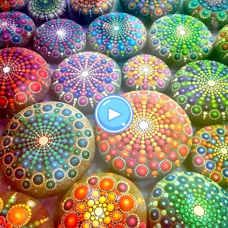mandala pebbles crafting with stones colorful mandala pebbles crafting with stonescolorful mandala pebbles crafting with stones Learn the best techniques for painting and...