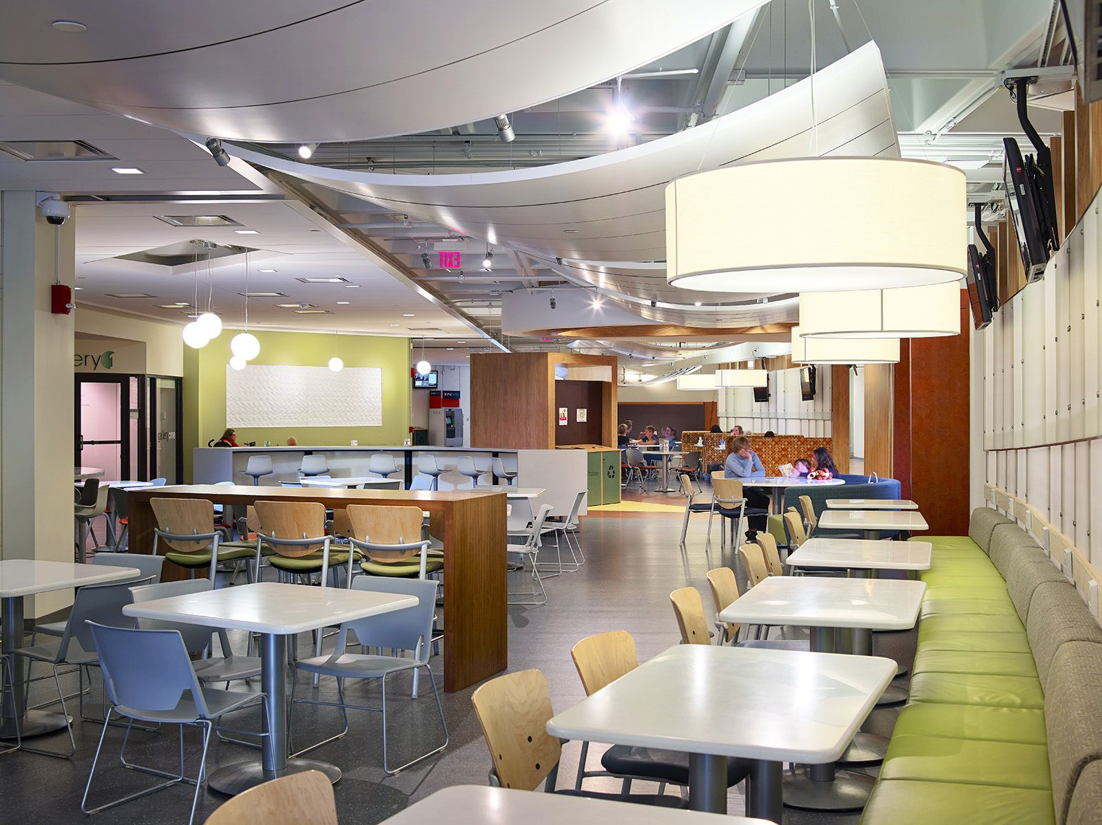 Pin By Hobbs Black Architects On Work Cafes Break Rooms Coffee Bars Student Center College Students Community College