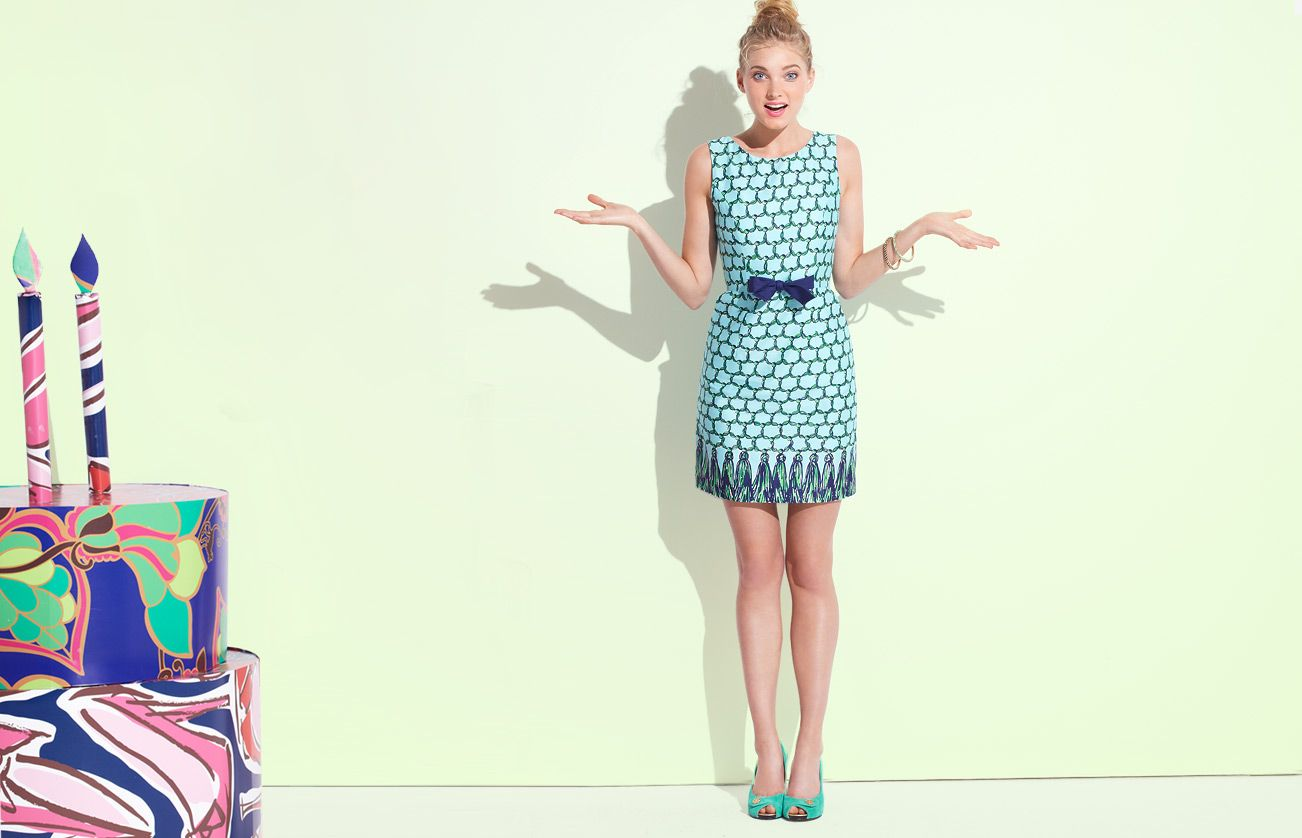 Lilly Pulitzer - always comfortable and fun!