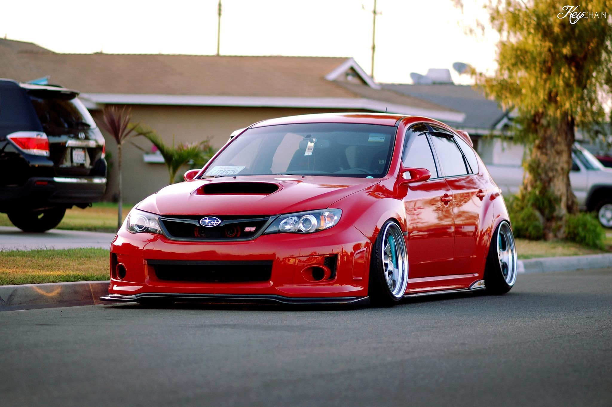 Stanced subaru sti hatchback dream cars pinterest subaru sti stanced subaru sti hatchback vanachro Images