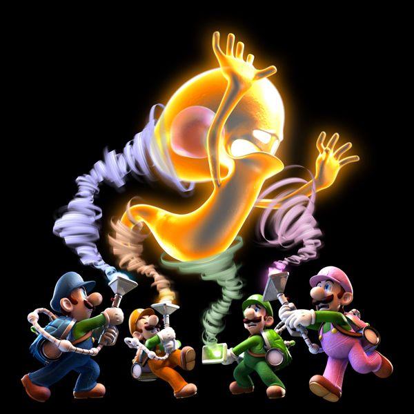 Luigi S Mansion Dark Moon 3ds Release Date March 24