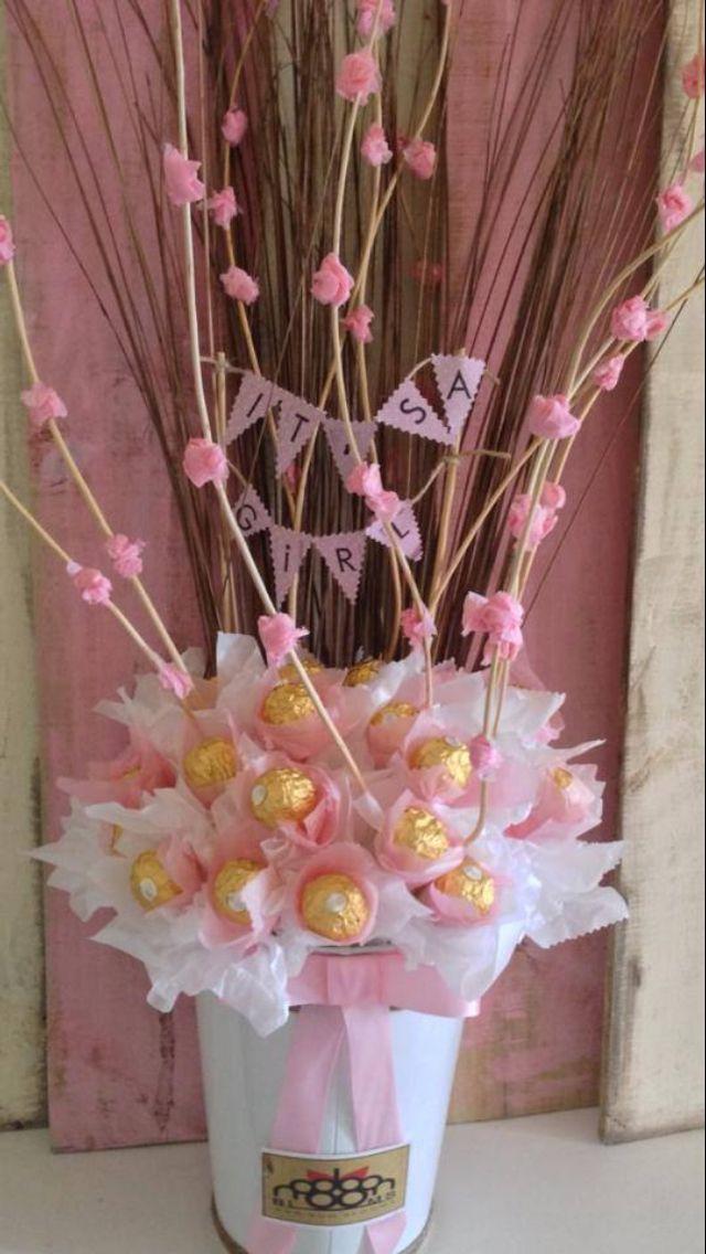 Bon Bon blooms, chocolate bouquet.
