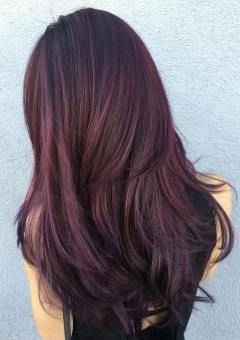 Red Hairstyles 50 Shades Of Burgundy Hair Dark Red Maroon And Red Wine Hair Color