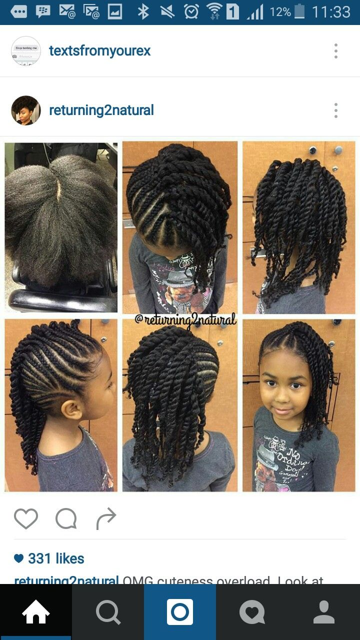 "Hairstyle For Kids Pintamika Davis ""shae"" On Kids Hairstyles  Pinterest  Kid"