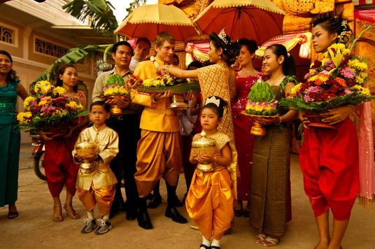 The March Of A Cambodian Wedding