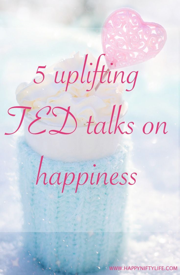 5 Uplifting TED Talks on Happiness