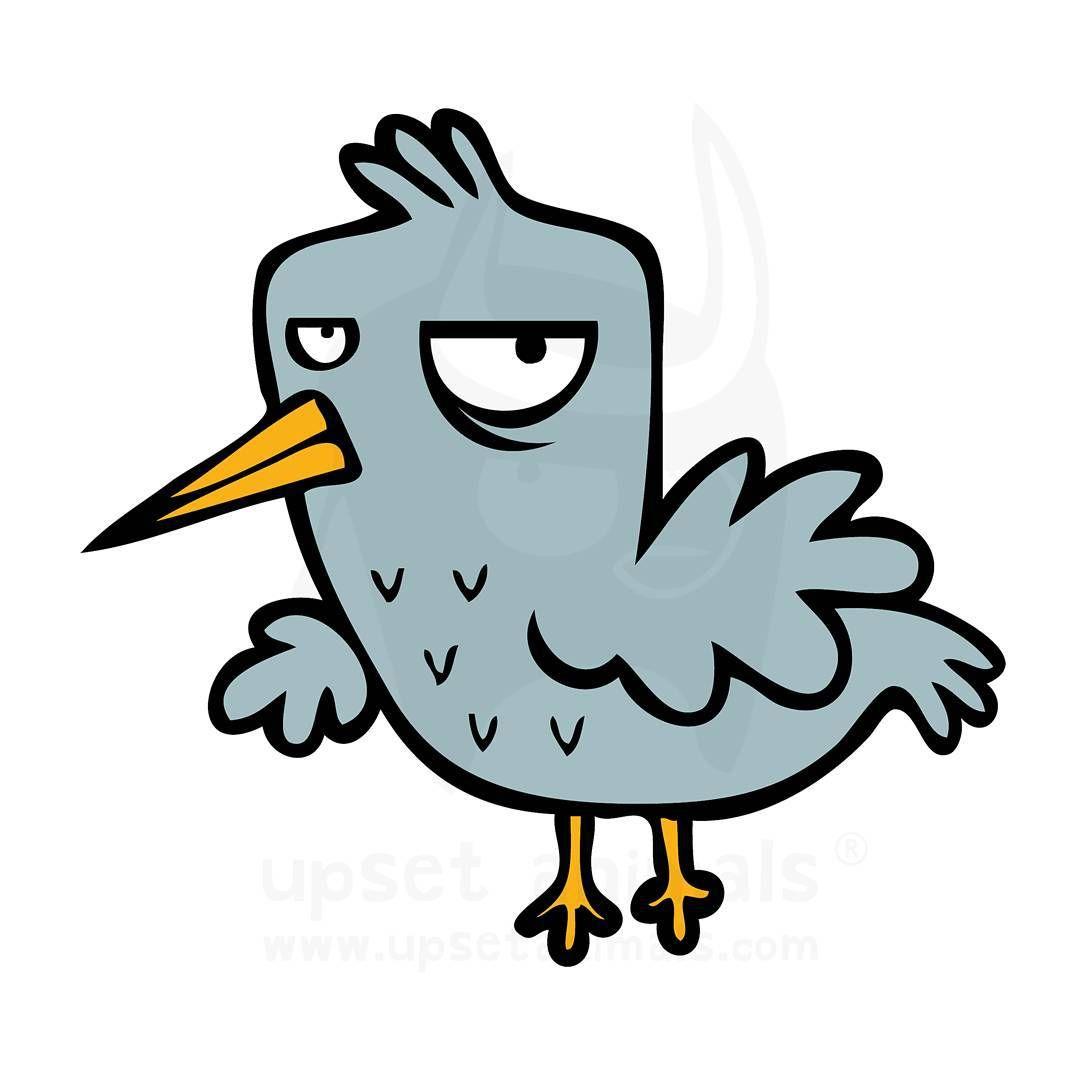 animal characters the upset bird upsetanimals upset animals