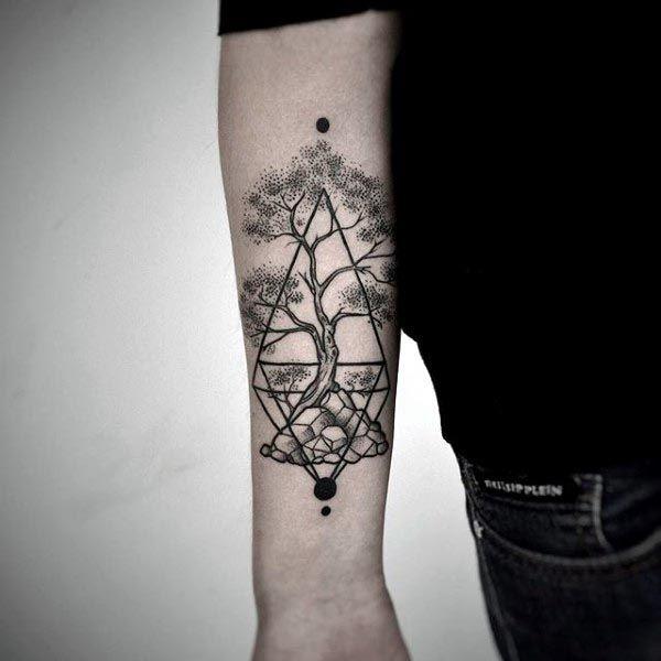 c6c6d0577 60 Bonsai Tree Tattoo Designs For Men - Zen Ink Ideas | Tattoo ...