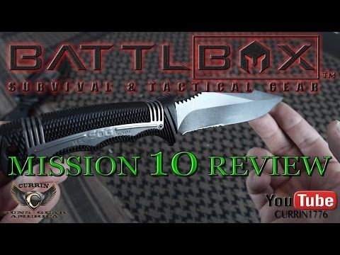 Battlbox Review Mission 10 December 2015 Year Of The Battlbox Tactical Gear Tactical Survival Gear