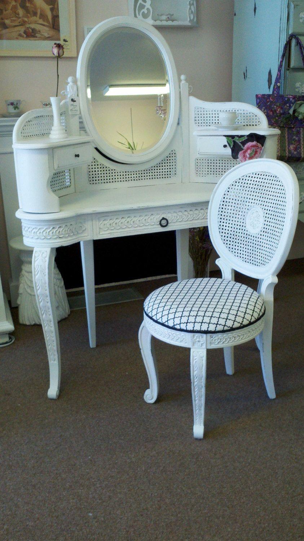 Vanity Chair Master Bath Corner Dresser