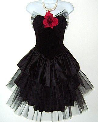 Prom dresses 80s style