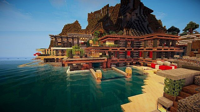 The Cove House Minecraft Project