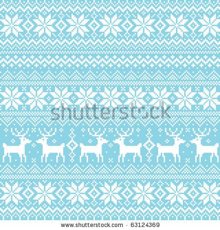 nordic background - stock vector