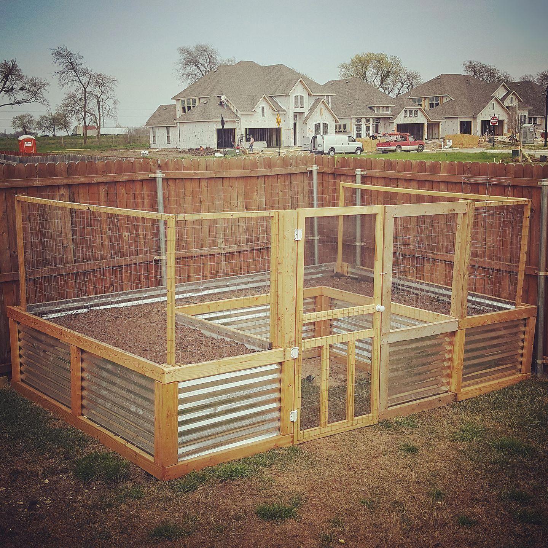 20 Raised Bed Garden Designs And Beautiful Backyard: My Husband Built Us This Beautiful U-shaped Raised Garden