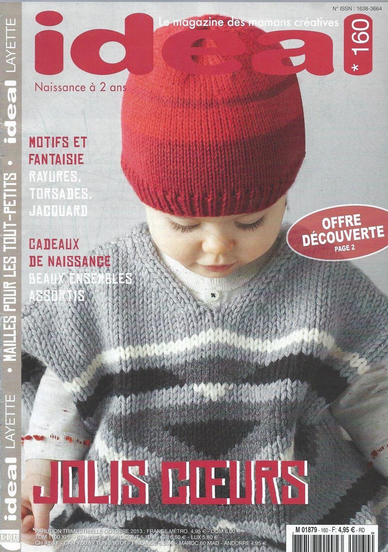 catalogue tutoriel IDEAL LAYETTE n-160 : Matériel Tricot par ...
