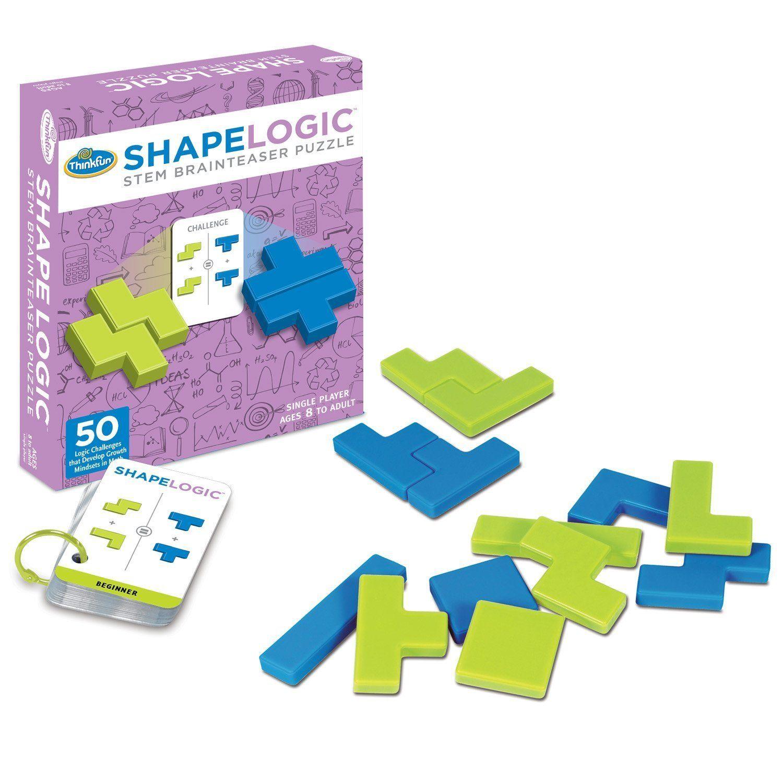 Shape Logic Stem Brainteaser Puzzle Review