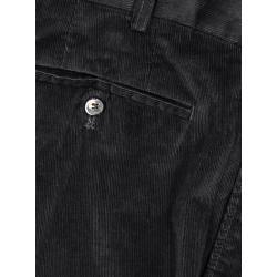 Photo of Fine cord trousers with stretch, Parma by Hiltl in black for men HiltlHiltl