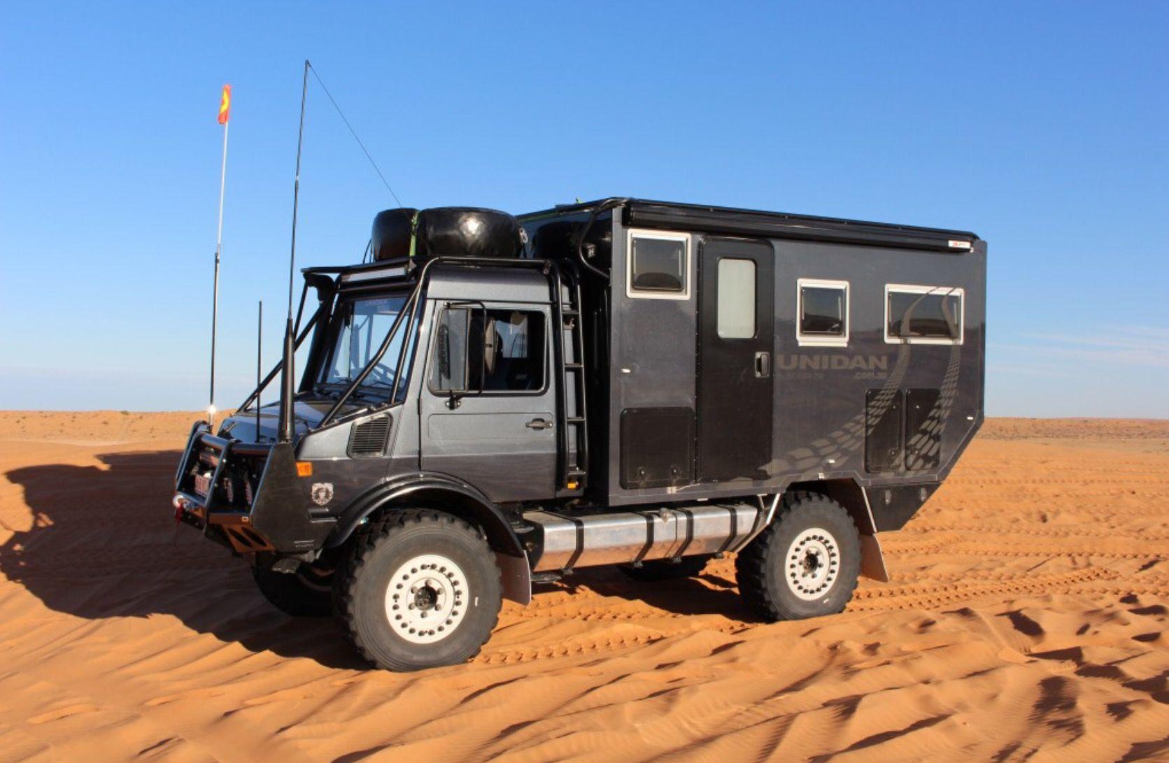 Unimog Camper  Expedition vehicle, Unimog, Vehicles