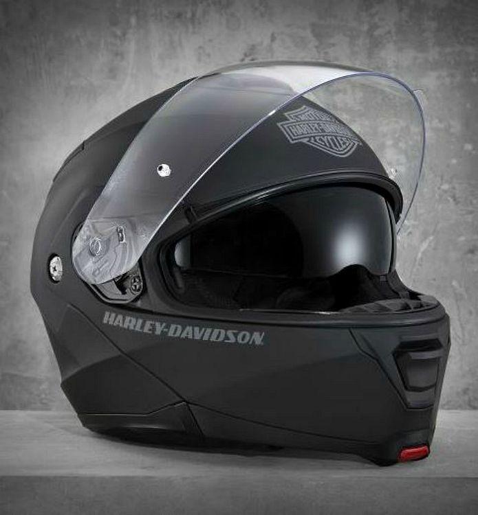 Harley-Davidson® Capstone SunShield Modular Helmet Matte Black