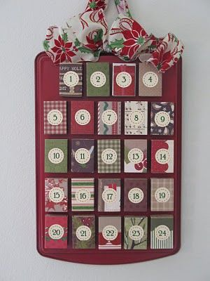 Matchbox Advent Calendar - did this with my sister and it came out great!