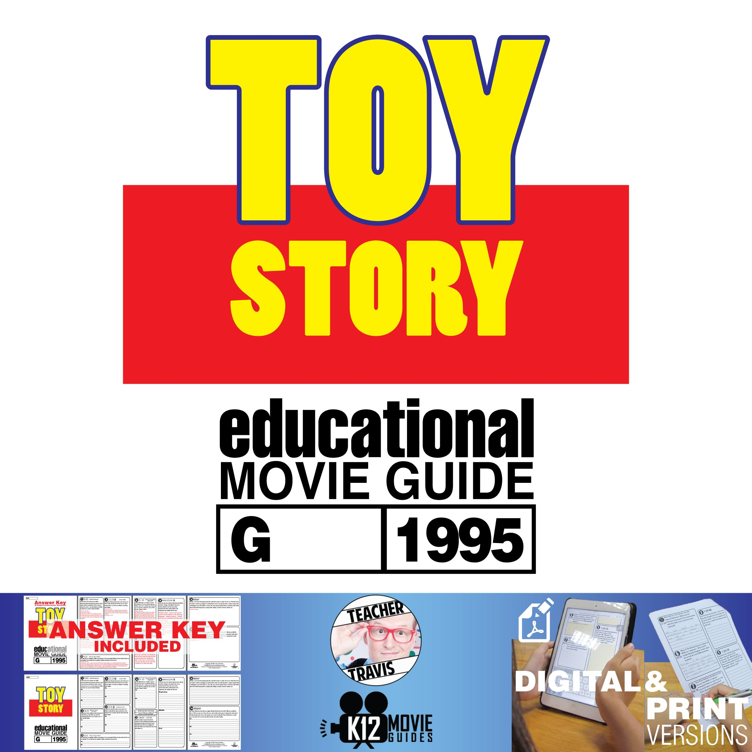 Toy Story Movie Guide Questions Worksheet G