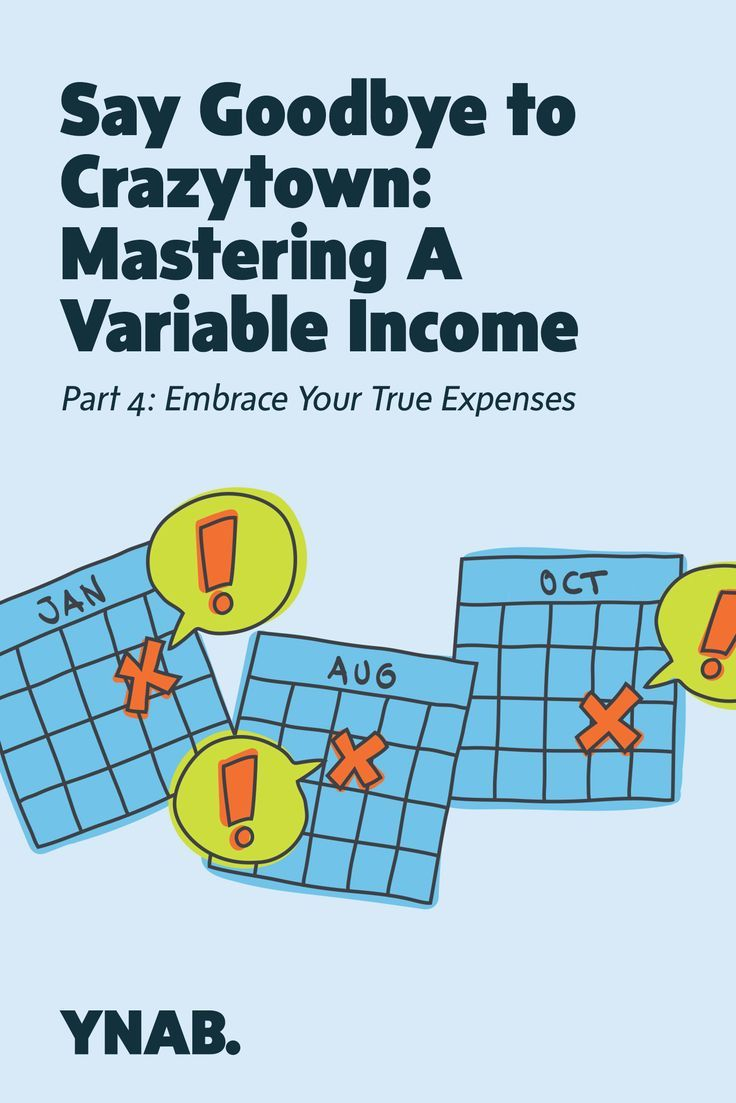 Planning For Non Monthly Expenses On An Irregular Income Money Management Advice Smart Budgeting Income