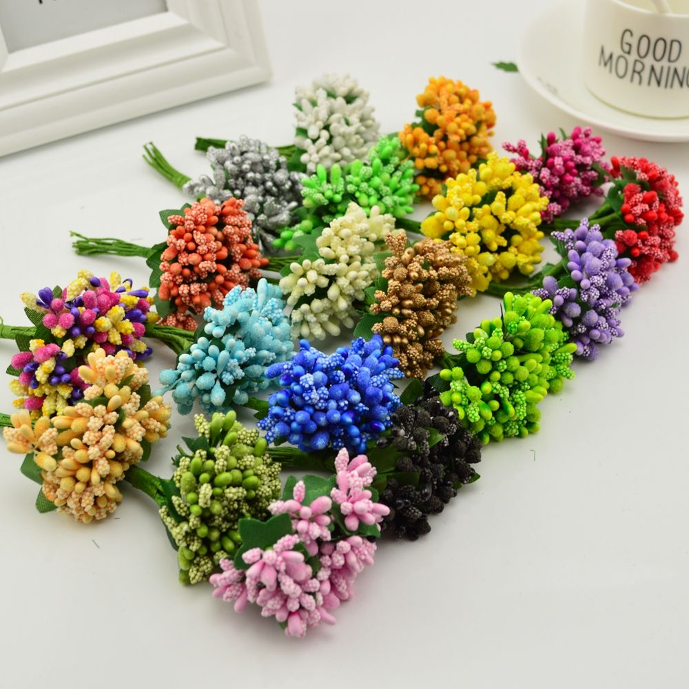 Find More Artificial Dried Flowers Information About Cheap 12pcs