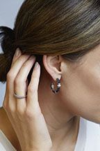 cd9dadc14 LAGOS Black Caviar hoop earrings. #hoopearrings #earrings #jewelry ...