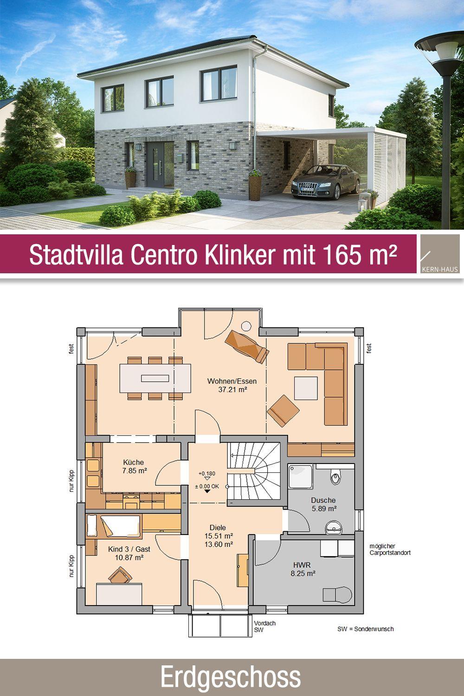 Stadtvillen in 2020 Stadtvilla, Haus grundriss und Haus