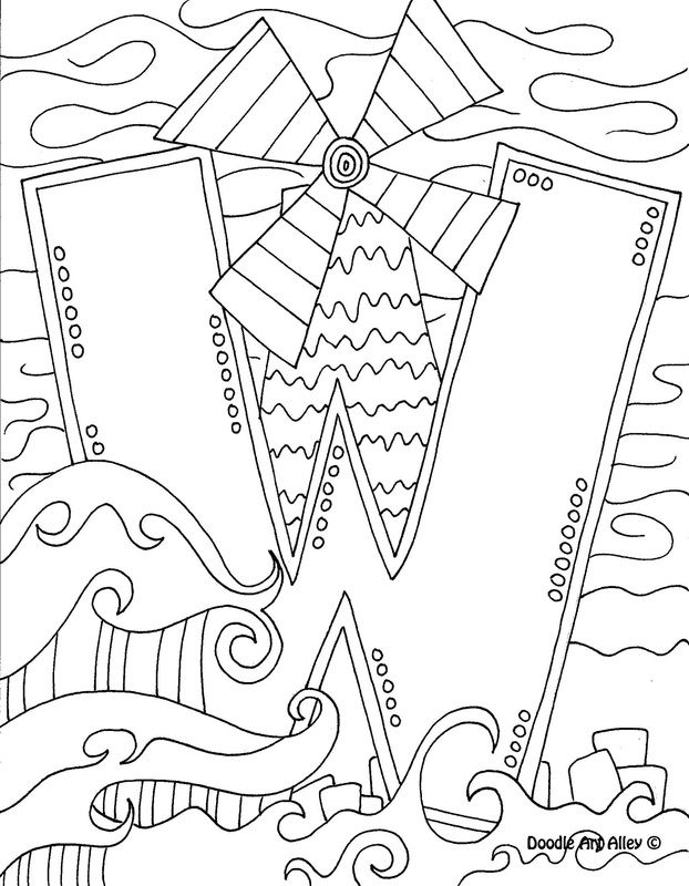 letter w coloring page classroomdoodles preschool abc