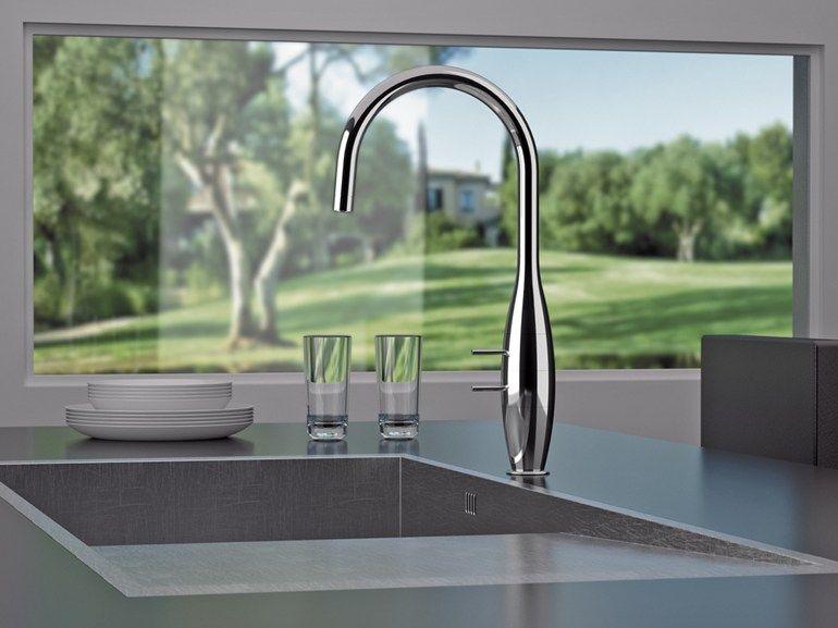 BK 72 Miscelatore da cucina by Remer Rubinetterie   Kitchen faucets ...