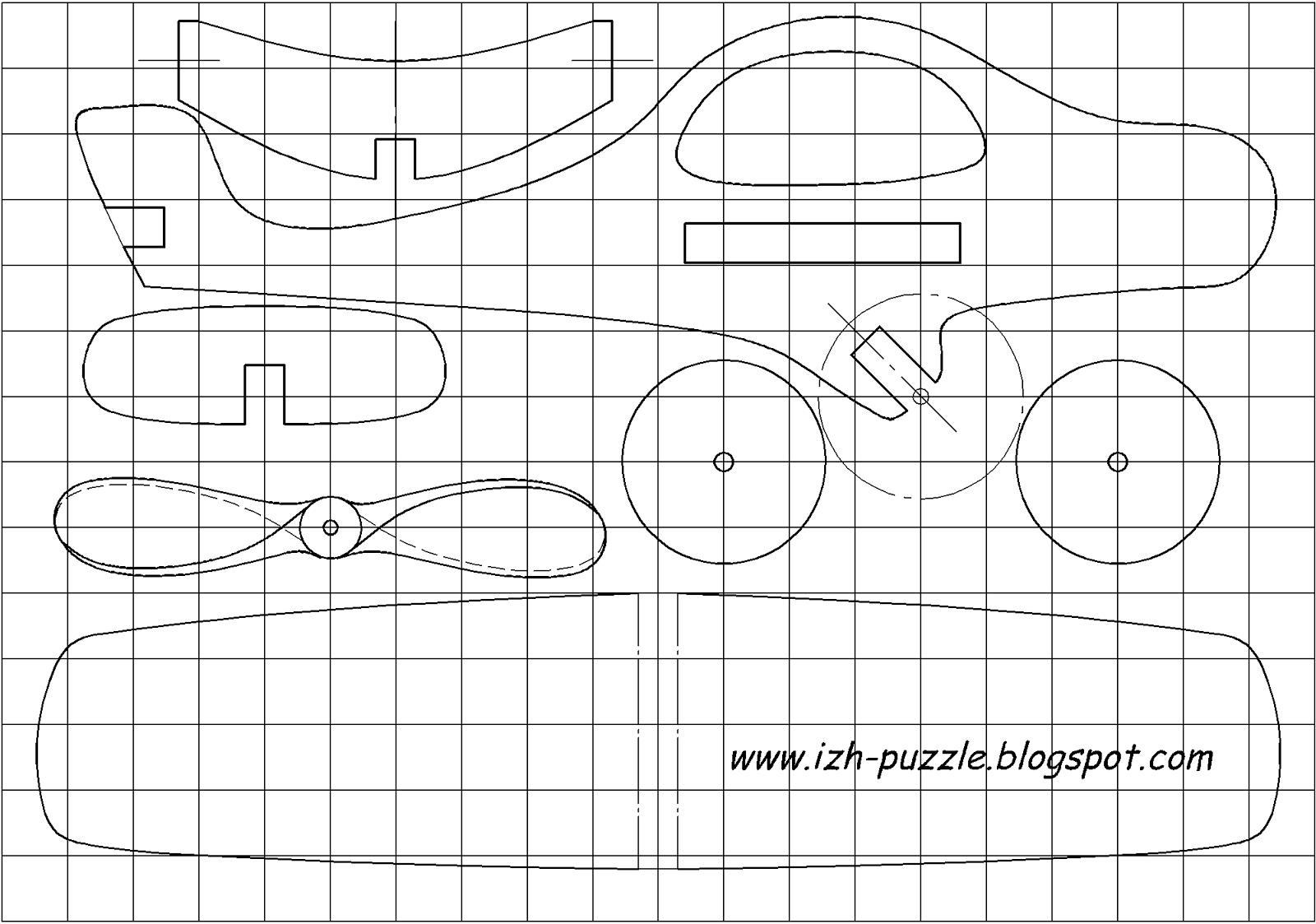 Как сделать самолет из дерева чертежи фото 571