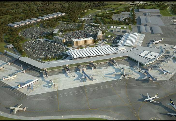 Proprosed terminal expansion at Ezeiza Airport    airside