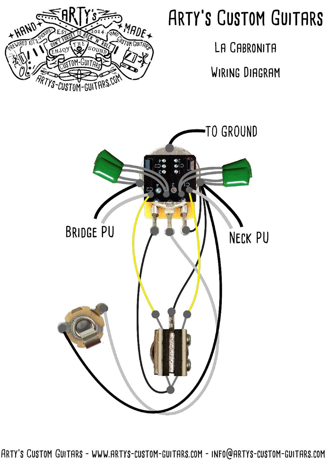 [DIAGRAM_5UK]  La Cabronita Prewired Kit S1 Switch Alternative wiring | Custom guitars,  Kit, Switch | Cabronita Wiring Diagram |  | Pinterest