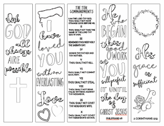 photograph regarding Free Printable Inspirational Bookmarks to Color referred to as Pin upon Religion