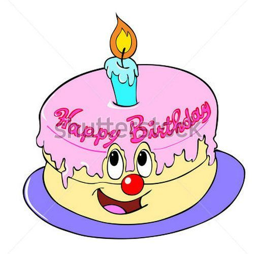 Animated Birthday Cake Clip Art Birthday Cake Ideas Pinterest